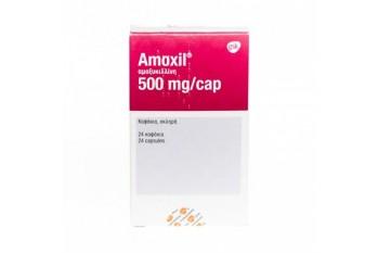 UK - AMOXYCILLIN 500MG (gsk) X 12 CAPSULES